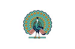 コンバウン王朝時代の旗(1752年- 1886年)
