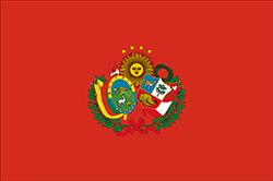 ペルー・ボリビア連合の旗