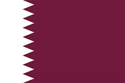 カタールの国旗
