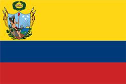 大コロンビアの国旗1819年–1820年