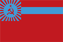 ジョージア国旗の変遷1951〜1989年