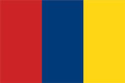 ヌエバ・グラナダ共和国の国旗1831年–1858年