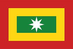 ヌエバ・グラナダ連合州の旗1811年–1814年
