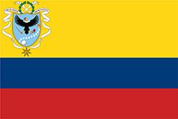 大コロンビアの国旗1820年–1821年