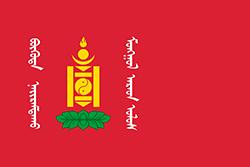 モンゴルの国旗1924–1930