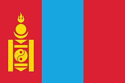 モンゴルの国旗1992-2011