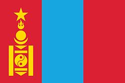 モンゴルの国旗1945–1992