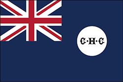 イギリス領時代の旗(1881年 - 1922年)