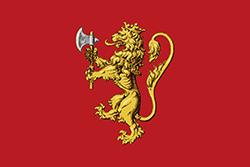 過去のノルウェー王国で使用された旗