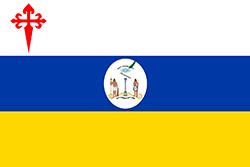 チリ第一国旗(別の仕様、1812年-1814年)