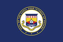 パナマ運河地帯の旗