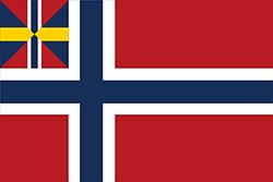 ノルウェーの旗 (1844-1898)