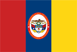 パナマ国旗の変遷1834~1861年