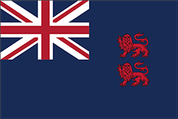 イギリス領時代の旗(1922年 - 1960年)