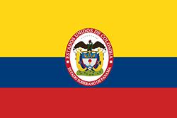 パナマ国旗の変遷1863~1886年
