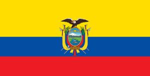エクアドルの国旗1900–2009