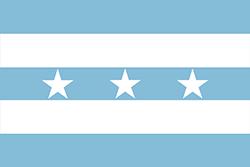 エクアドルの国旗1820–1822