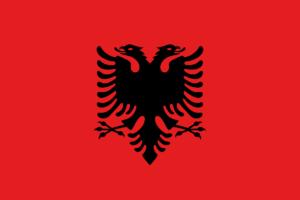 アルバニア国旗の変遷1992年-2002年