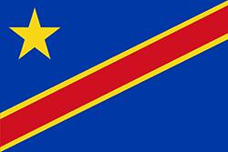 コンゴ民主共和国国旗の変遷1966年 - 1971年