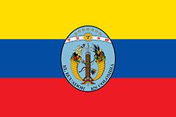 エクアドルの国旗1830–1835