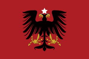 アルバニア国旗の変遷1914年-1920年