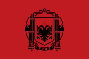 アルバニア国旗の変遷1939年-1943年