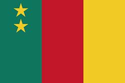 カメルーン国旗の変遷(1961~1975年)