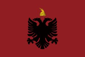 アルバニア国旗の変遷1928年-1934年