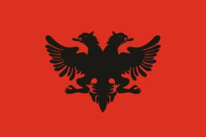 アルバニア国旗の変遷1912年-1914年