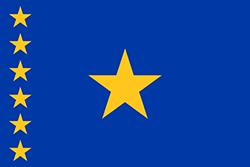 コンゴ民主共和国国旗の変遷1960年 - 1963年