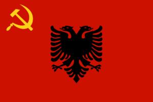 アルバニア国旗の変遷1944年-1946年