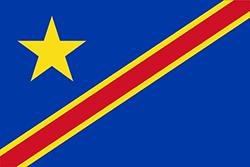 コンゴ民主共和国国旗の変遷1963年 - 1966年