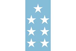 エクアドルの国旗1845–1860