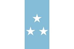 エクアドルの国旗1845