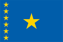 コンゴ民主共和国国旗の変遷1997年 - 2003年