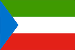 赤道ギニア国旗の変遷1968~1973年