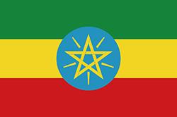 エチオピアの国旗1996~2009年