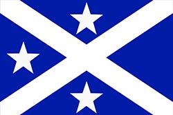 アベママ王国の旗(1884年〜1889年6月)