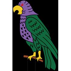 ドミニカ-インコ