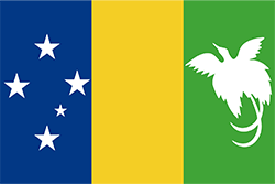 パプアニューギニア国旗の変遷1970〜1971年