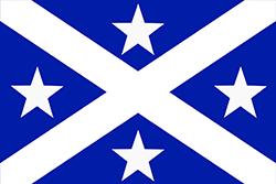 アベママ王国の旗(1884年4月〜1884年6月)