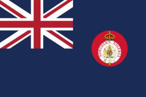 北部ナイジェリアの保護領の旗(1900~1914年)