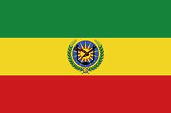 エチオピアの国旗1975~1987年