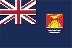 ギルバート諸島とエリス諸島の旗(1937–1979)