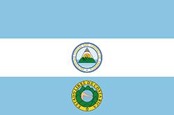 コスタリカ国旗の変遷1824年11月2日〜22日
