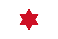 コスタリカ国旗の変遷1823年6月6日〜1824年3月4日