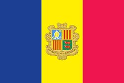 アンドラ国旗の変遷(1949~1959年)