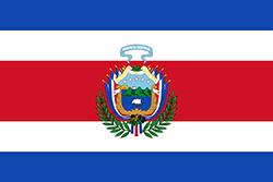 コスタリカ国旗の変遷1848年11月12日〜1906年11月27日