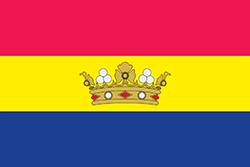 ボリス1世の統治下にあるアンドラの旗(1934年)