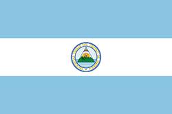 コスタリカ国旗の変遷1824年3月4日〜11月2日